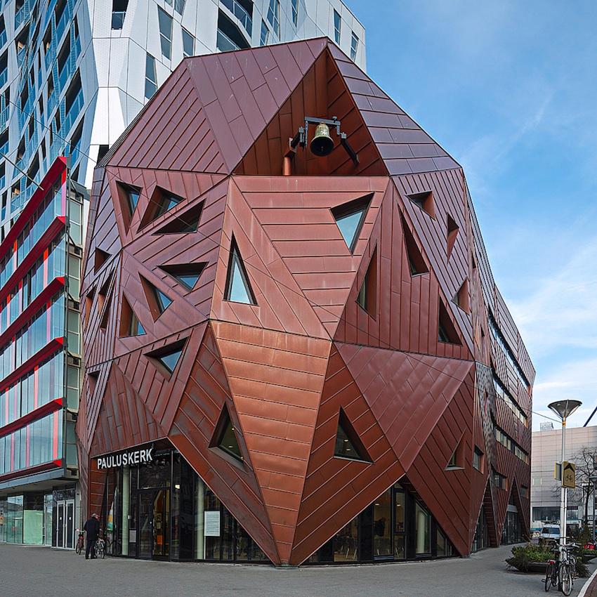 Pauluskerk Rotterdam. Architectuurfotografie: DAPh/Imre Csány