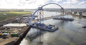 Winnaar Staalbouwprijs 2014 stadsbrug De Oversteek Nijmegen